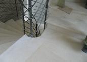 מדרגות משיש חלילה