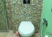 ציפוי פסיפס על קיר