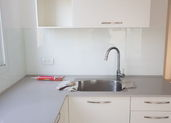 בניית מטבח קומפלט כולל חיפוי זכוכית